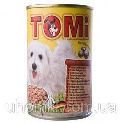 TOMi 3 kinds of poultry ТОМИ 3 ВИДА ПТИЦЫ консервы для собак, влажный корм (1.2)